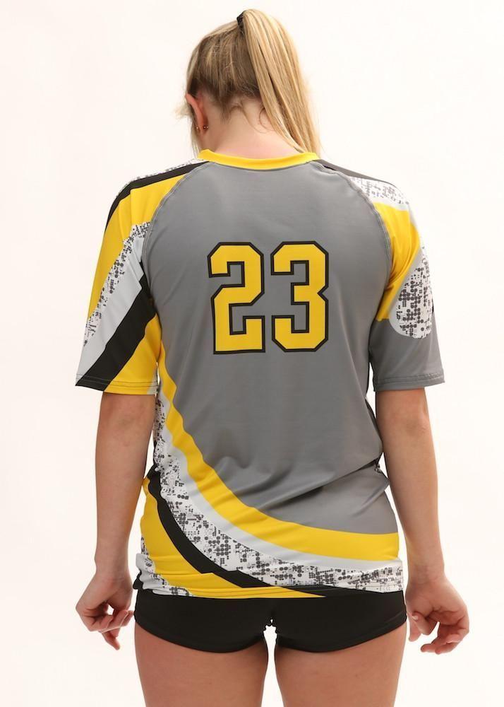 5fa497f09477e Tsunami Women's Half Sleeve Sublimated Jersey | Voleibol | Uniformes ...