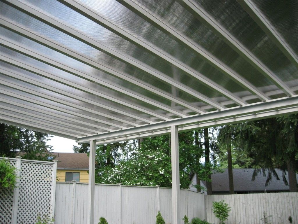 Clear Roof Panels Installation Tips Canopy outdoor