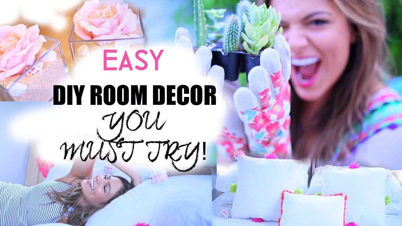 Easy Diy Room Decorations Inspired By Tumblr