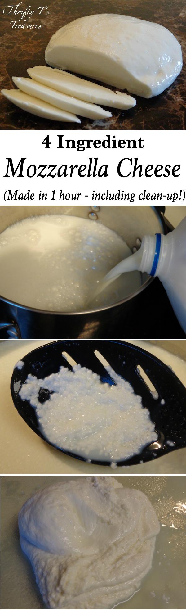 Como fazer Queijo Mussarela (em menos de 1 hora)  Este tutorial passo-a-passo mostra como fazer Mozzarella em uma hora. Quem sabia fazer o queijo poderia ser um projeto DIY tão fácil? Isto vai certamente ser uma daquelas receitas que você vai se apaixonar com o!