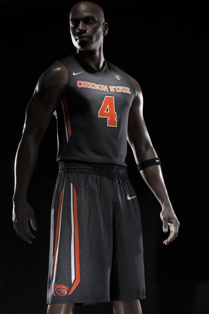 Hombre Negro · new nike oregon state beavers basketball uniforms 12  687x1030 New Nike Oregon State Beavers Basketball Uniforms