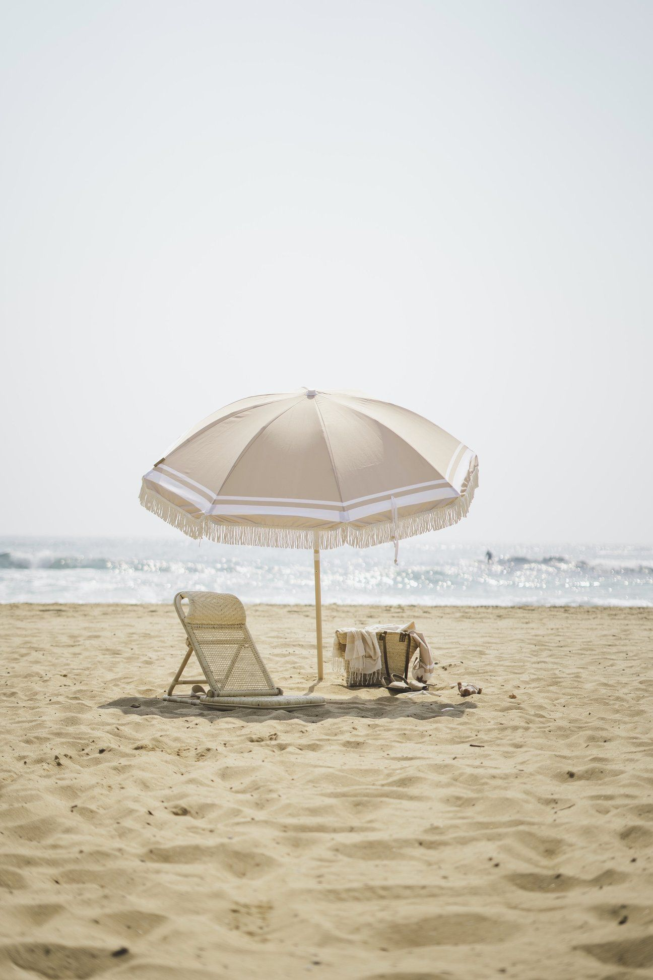 Premium Recycled Beach Umbrellas designed with
