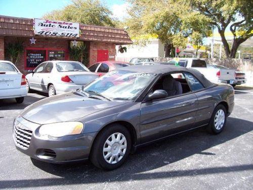 2005 Chrysler Sebring Conv 2 4 L 60k Fl Car No Accid 2