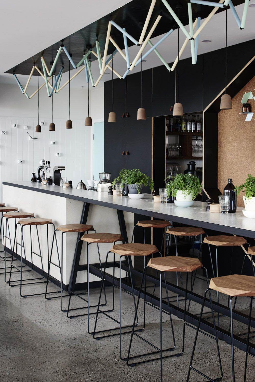 Eye Opening Coffee Bars You Ll Want For Your Own Kitchen Restaurant Interior Modern Interior Design Restaurant Design