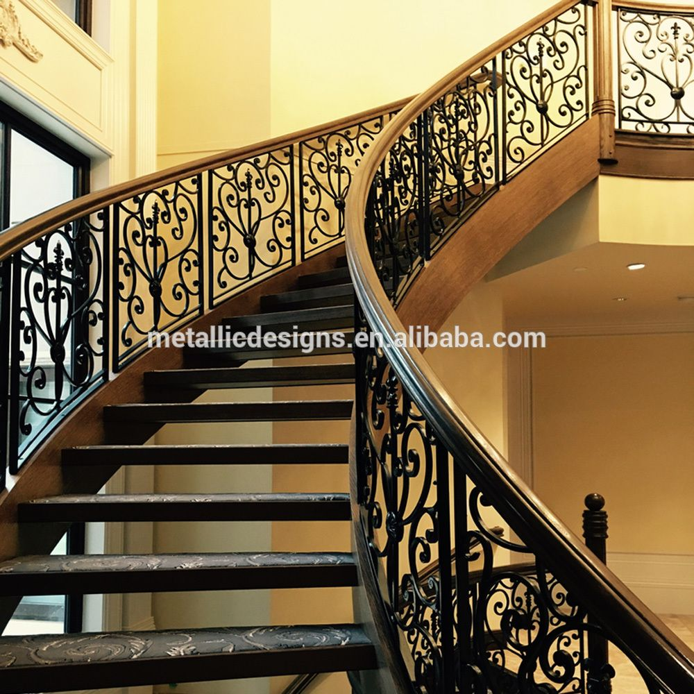 Cheap Indoor Wrought Iron Balusters Stair Spindles Wholesale