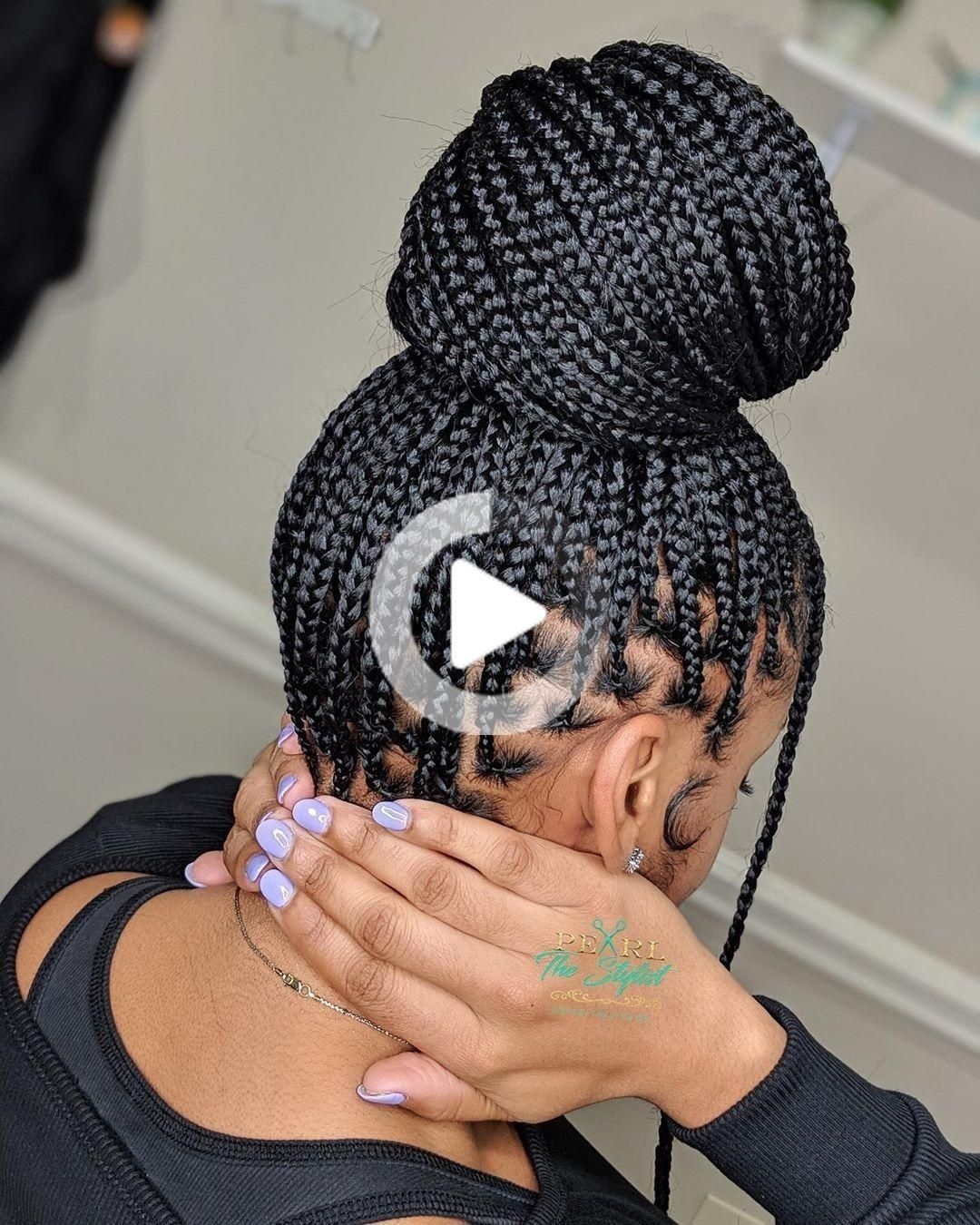 #braided bun hairstyles african american #braided hairstyles over 50 #braided hairstyles bob #black