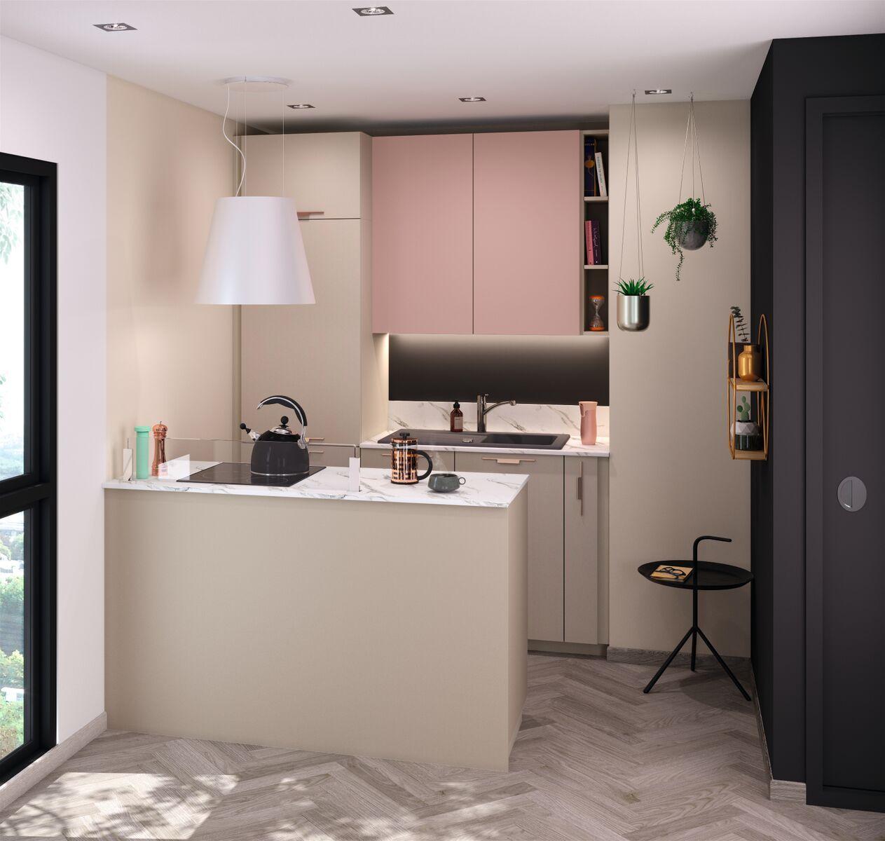 Comment aménager une petite cuisine? 19 exemples de 19m19 à 19m19 en