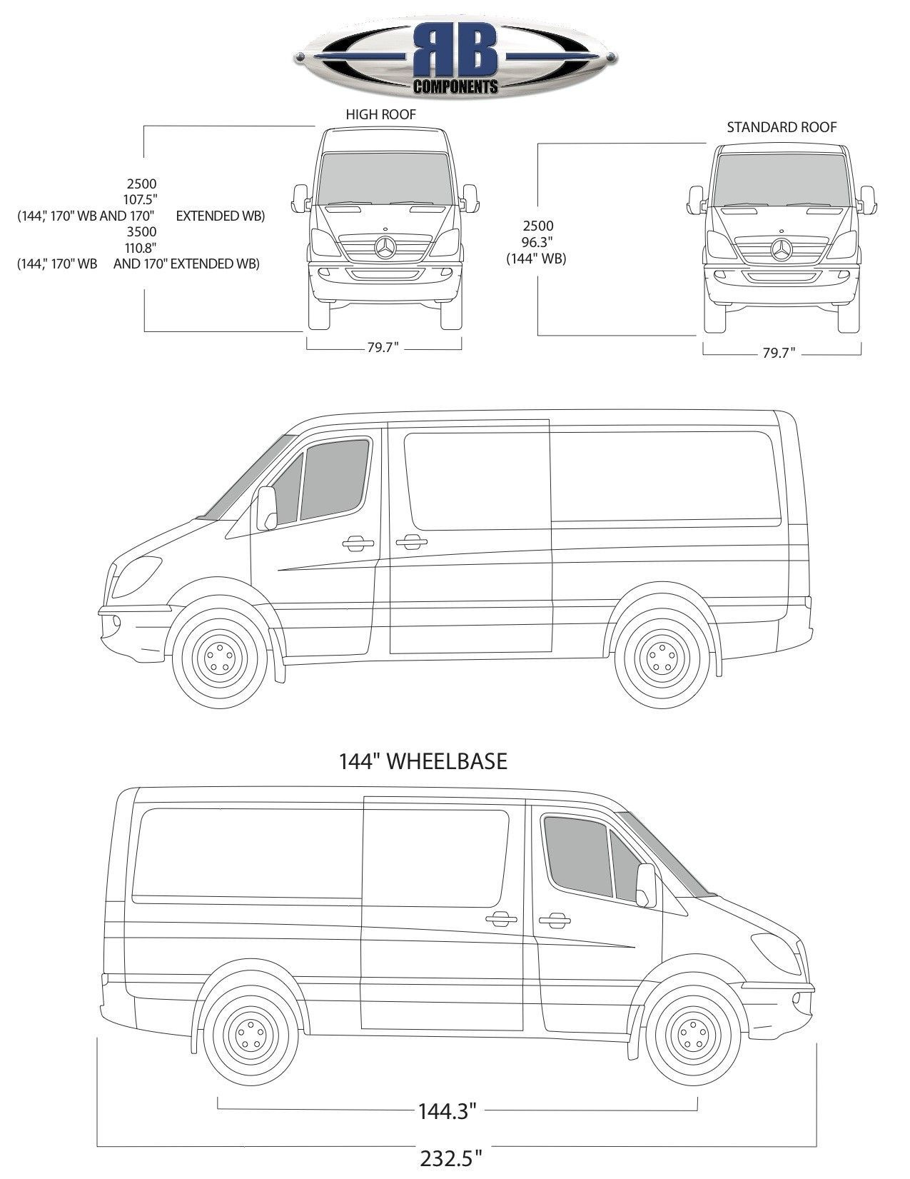 Image Result For 144 Low Roof Sprinter Van Conversion For