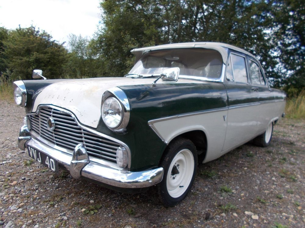 Ford Zephyr 6 Mk2 1961 Runs Well Much Work Completed Further