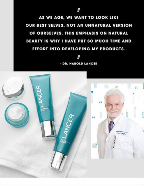 The Skincare Steps By Dr Lancer Lancer Skin Care Makeup