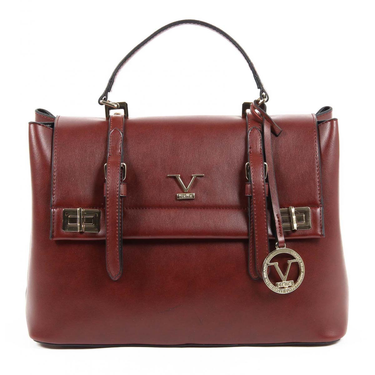 effdaadebb V 1969 Italia Womens Handbag VE017 CLARET RED