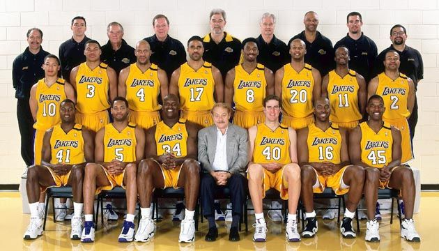 1999 00 Los Angeles Lakers Roster Lakers Los Angeles Lakers Basketball Nba