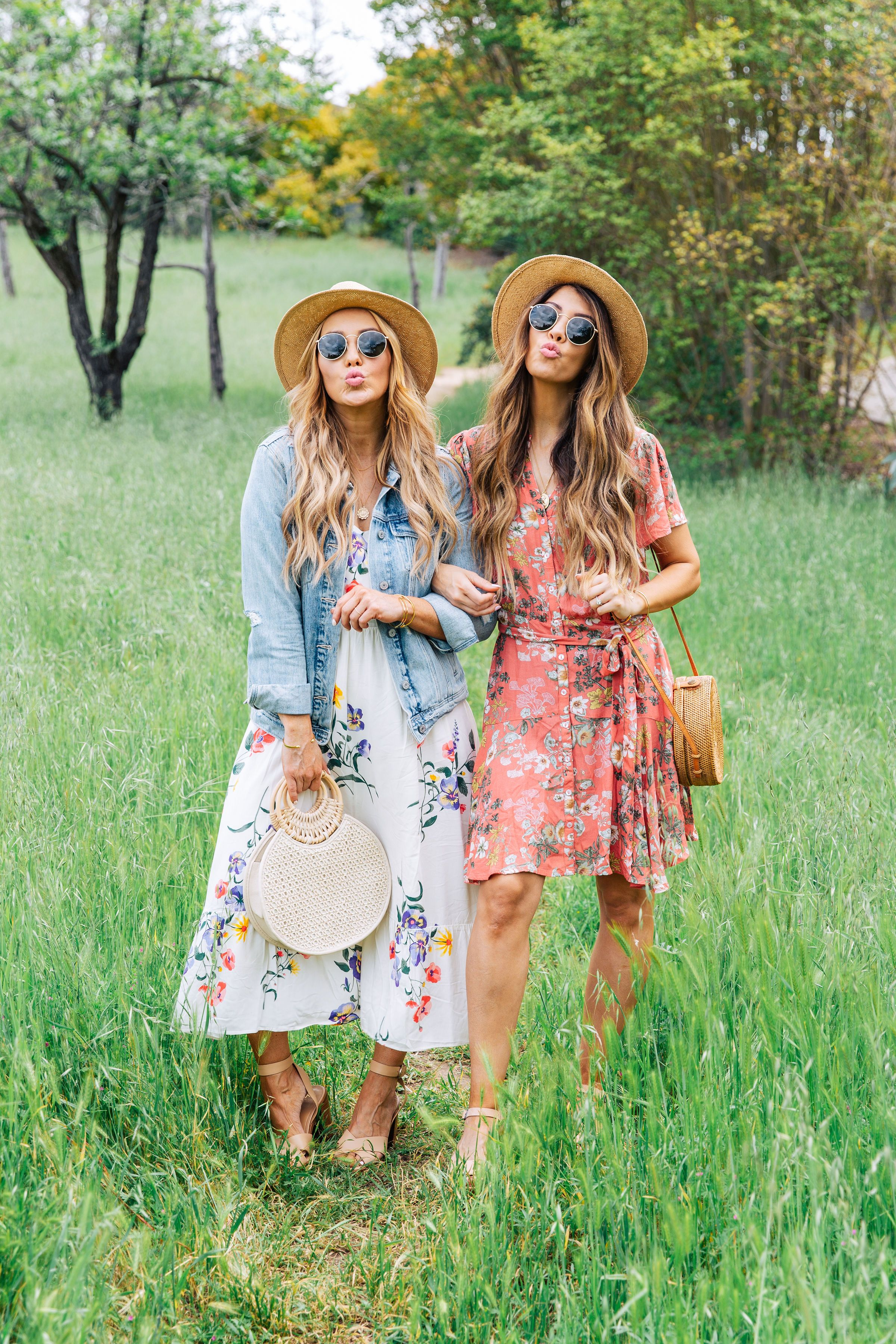 Our Easter Traditions + Easter Dresses Roundup!  Boho fashion