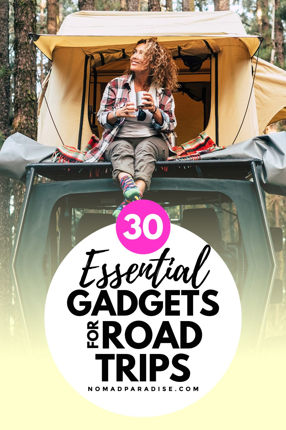 Best Car Gadgets & Accessories (Perfect for Road Trips)