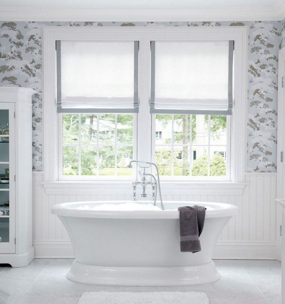 Bathroom Window Treatments Ideas | Window Treatments | Pinterest ...
