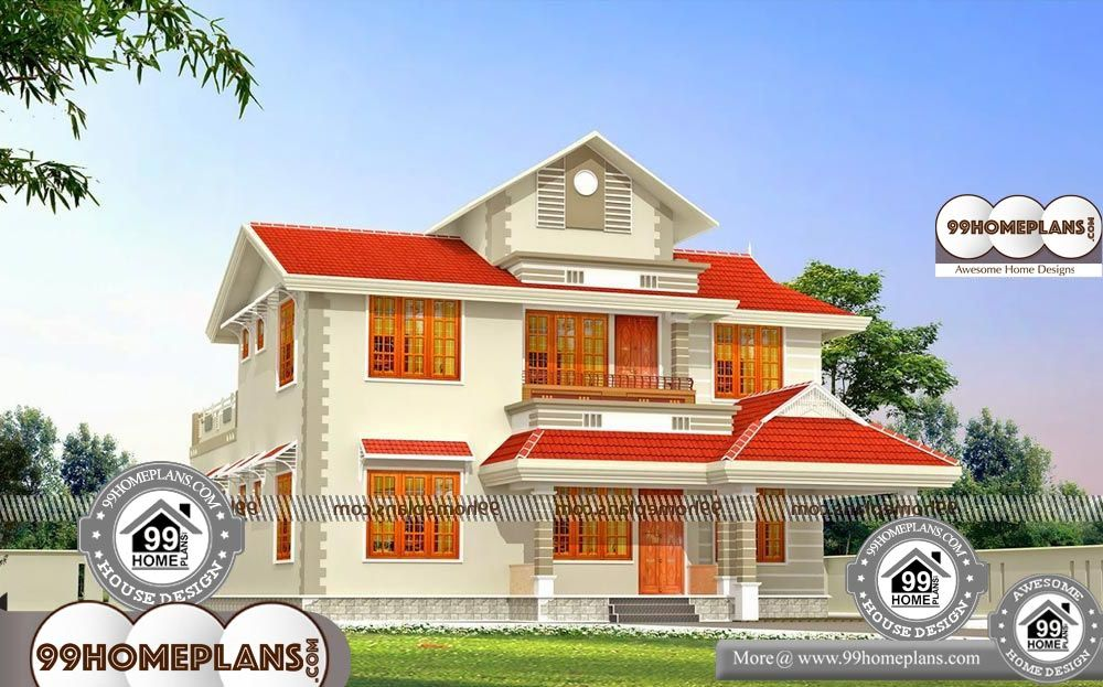 House Elevation Model Collections 90+ Two Level House ...