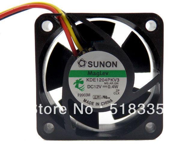 Sunon 4cm 4020 4 4 2cm 40mm X 20mm 12v 3 Pin 12 Volt Cooling Fan