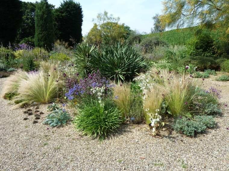 idée aménagement de jardin extérieur avec gravier | Drought ...