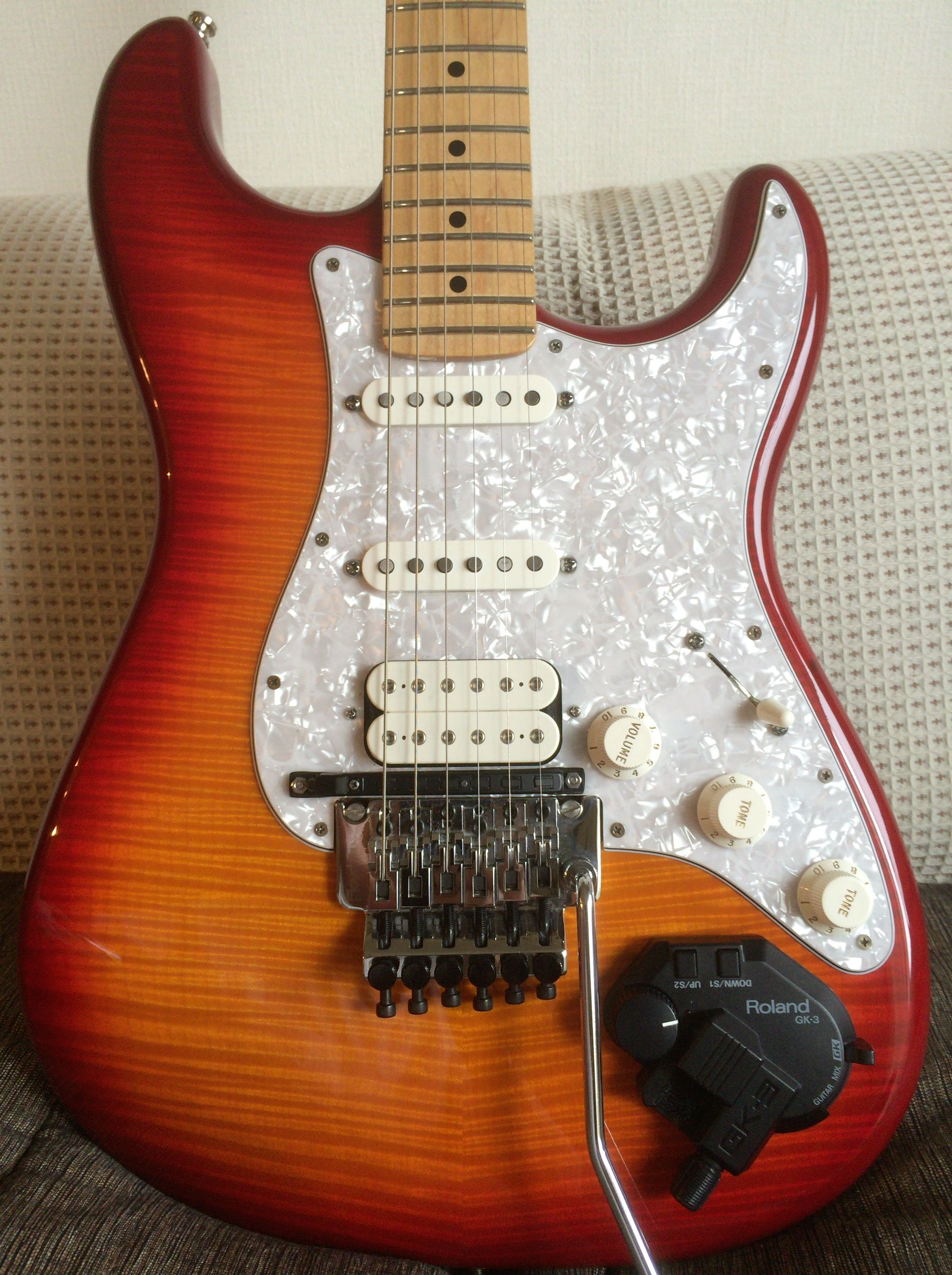 Fender Stratocaster Plus-top with F-Rose+Texas-Sp  ,Dimazio Fred