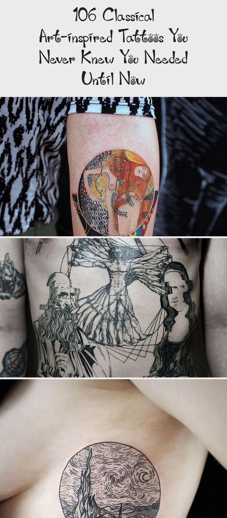 14 Classical Art Inspired Tattoos You Never Knew You Needed Until Now Bored Panda Contemporaryarttattoo Artt In 2020 Art Inspired Tattoos Tattoo You Classical Art