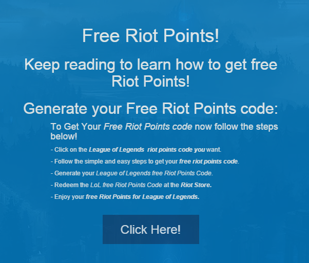 free riot points codes