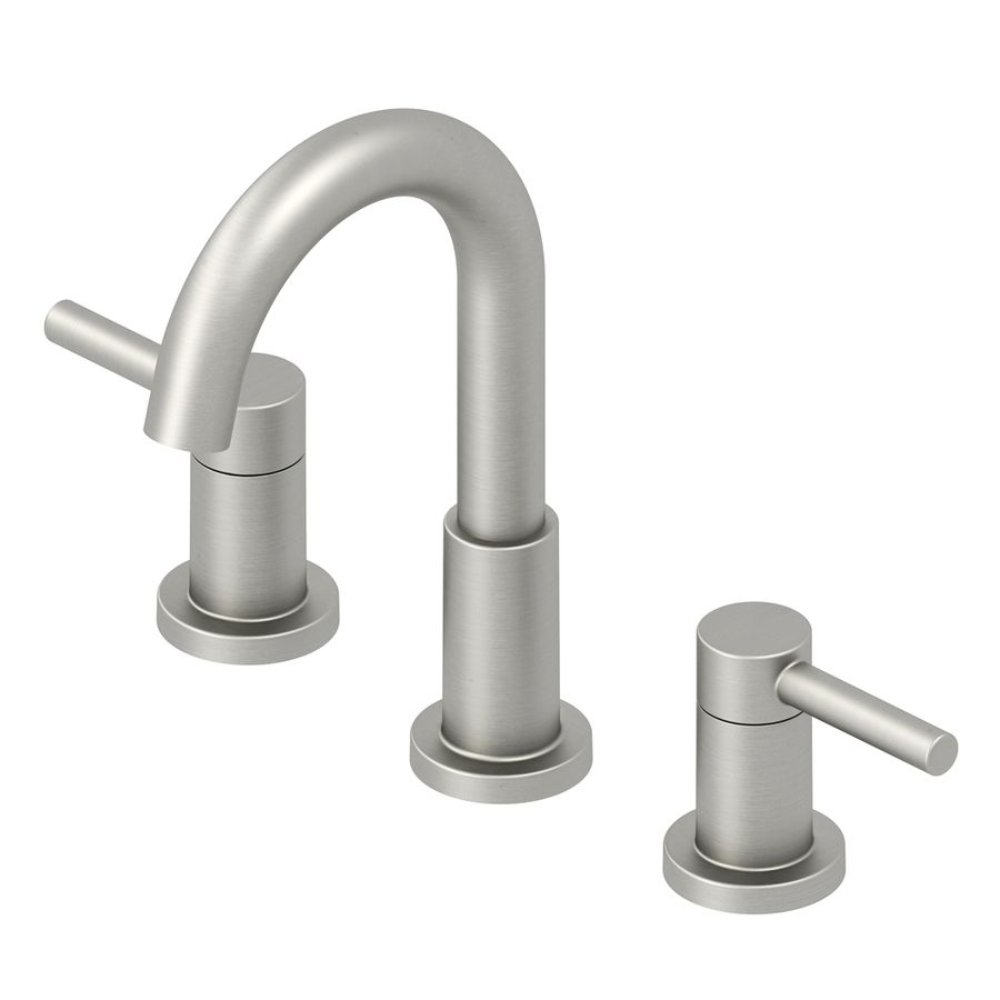 Jacuzzi Duncan Bushed Nickel Pvd 2 Handle Widespread