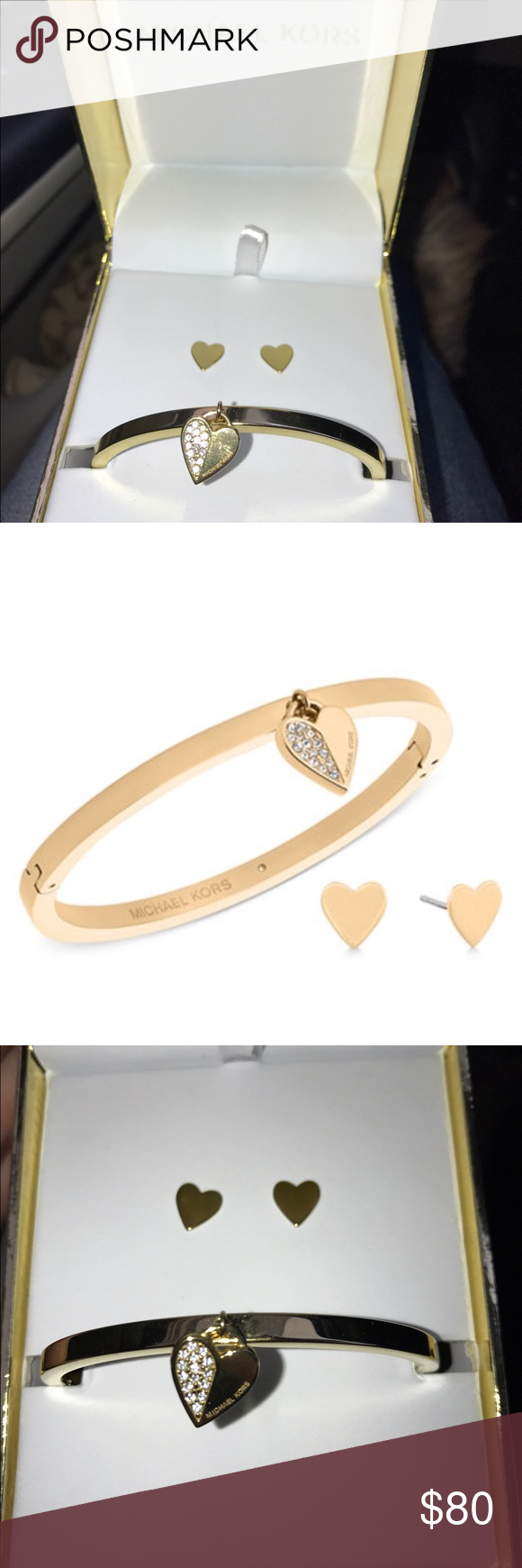 designer fashion release date: fashion Michael Kors Bracelet & Earring Set. ❤️❤️Brand new ...