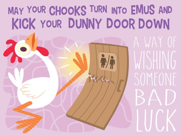 Dunny Door - australian idiom  sc 1 st  Pinterest & Colorful Illustrations That Explain the Meanings of Common ...