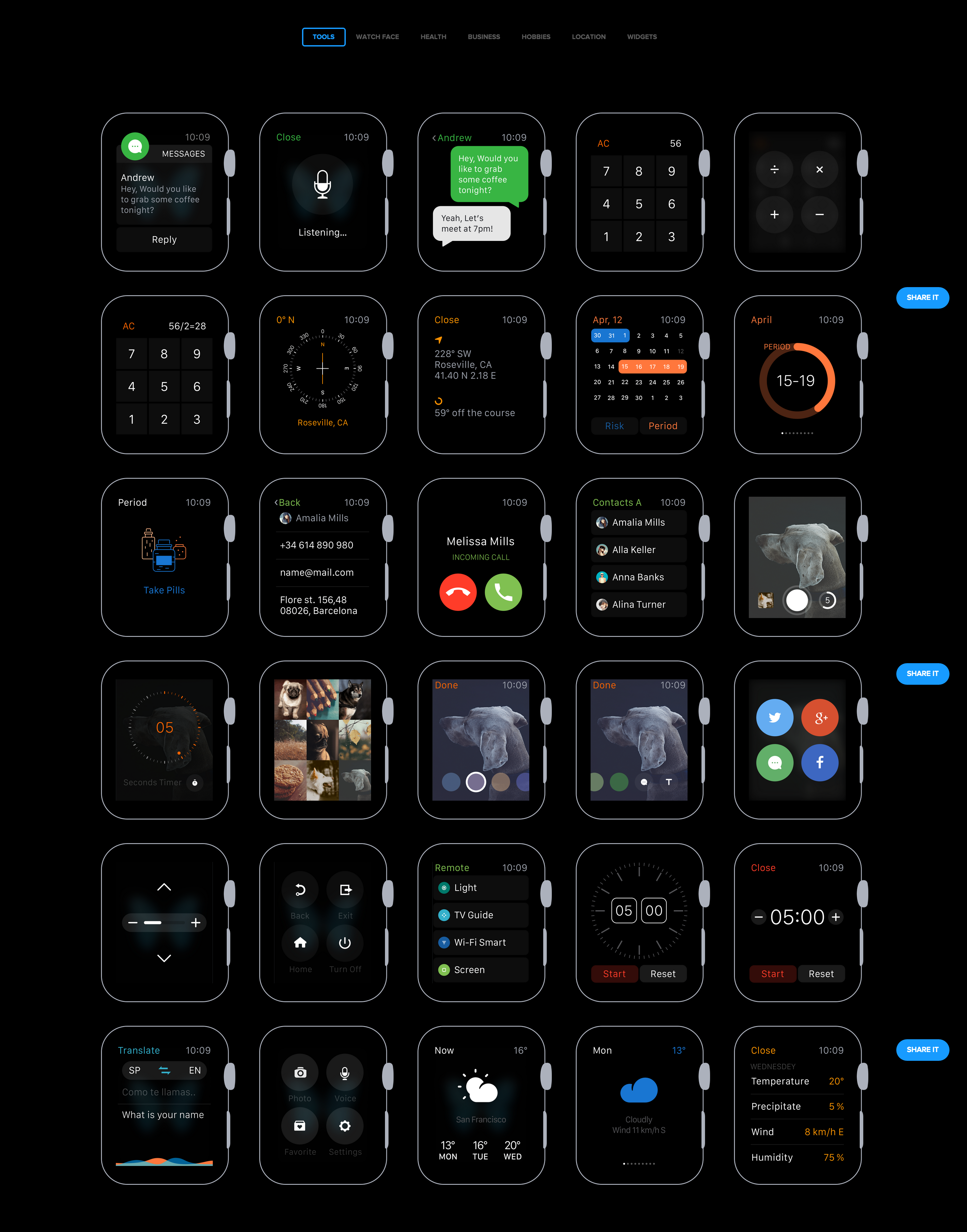 Pin on Wearables UI & UX Design