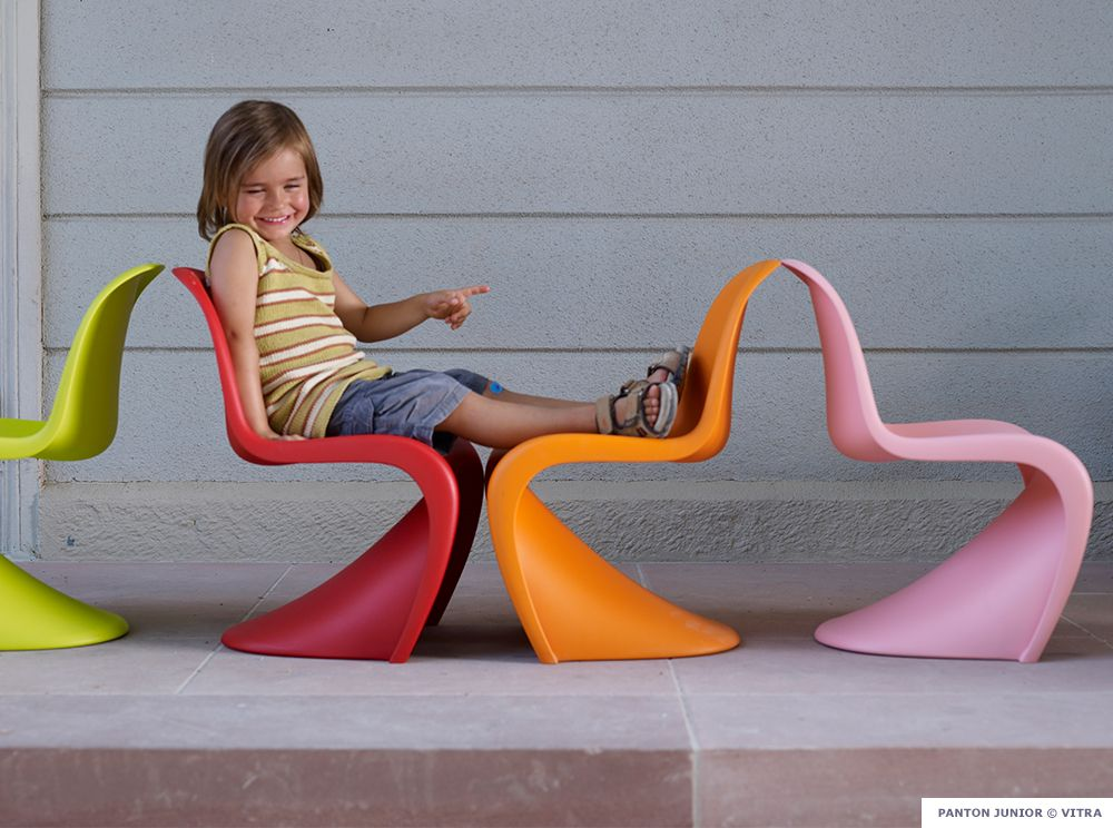 Panton Chair Kinderstuhl best photos from furnish by color panton chair bedrooms and