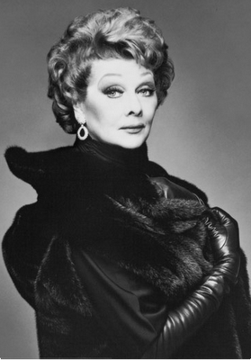 Even in her later years if life Lucille Ball still rocked style class