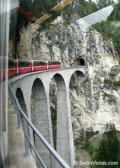 Swiss Rail Bus And Boat Travel Bernina Express Train Adventure Swiss Rail
