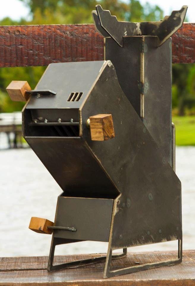 Cocina cohete rocket stove mechero estufas parrilla for Planos para fabricar una cocina cohete