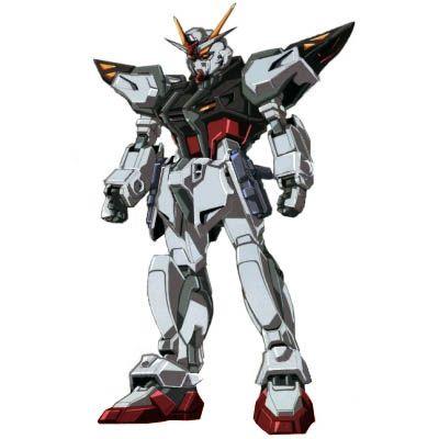 The GAT-X105E Strike Gundam E (aka Strike Enhanced, Strike) is a Mobile Suit in the Cosmic Era timeline.