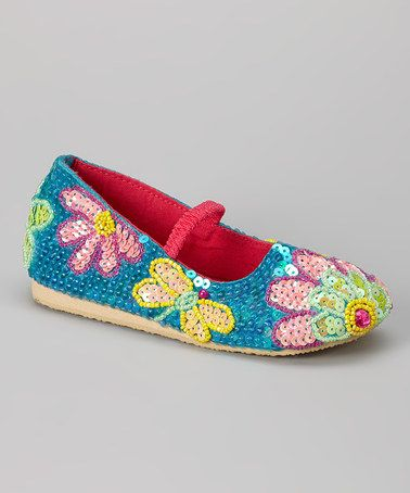 Loving this Blue Bead Dragonfly Flat on #zulily! #zulilyfinds