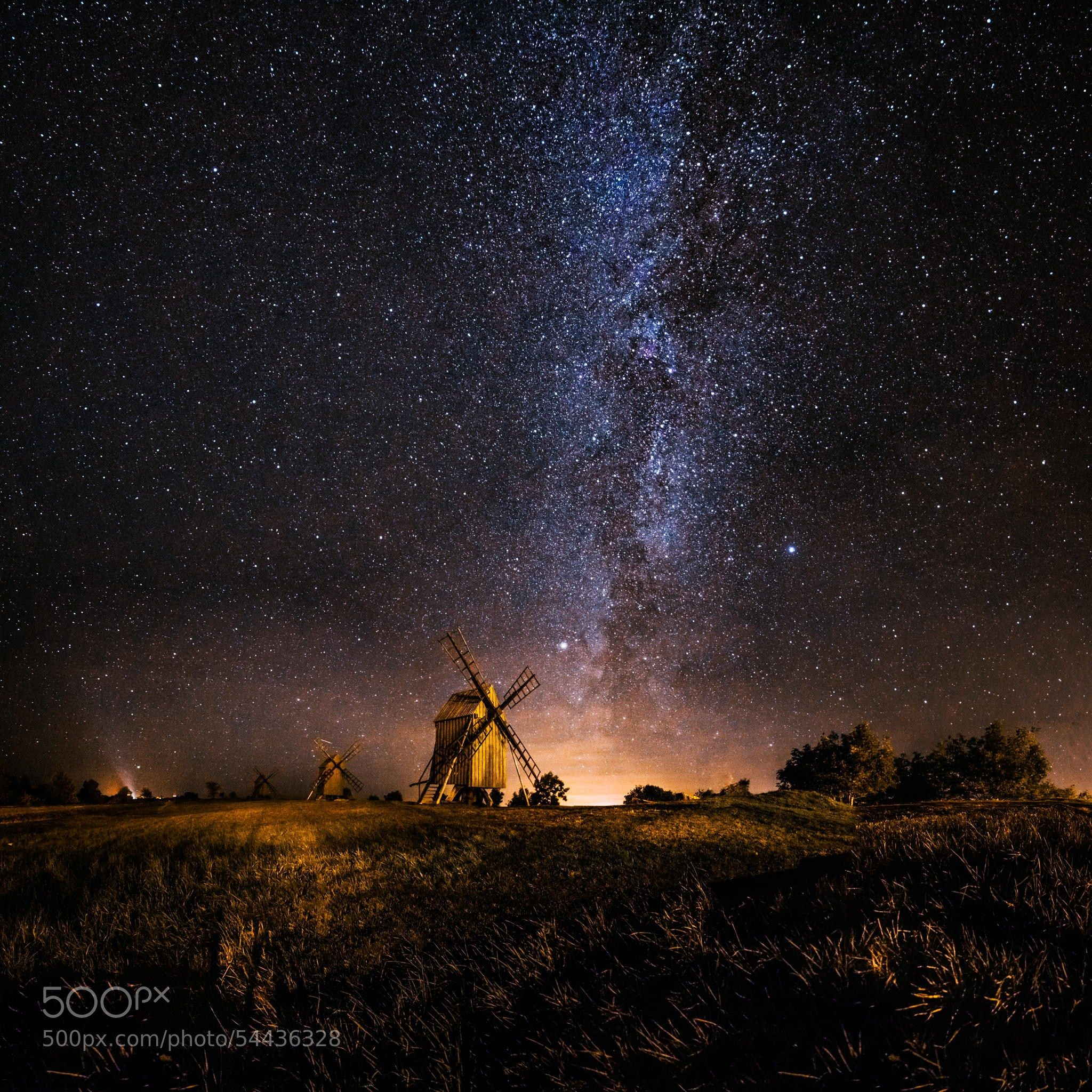 Photograph Galaxy rising by Jörgen Tannerstedt on 500px
