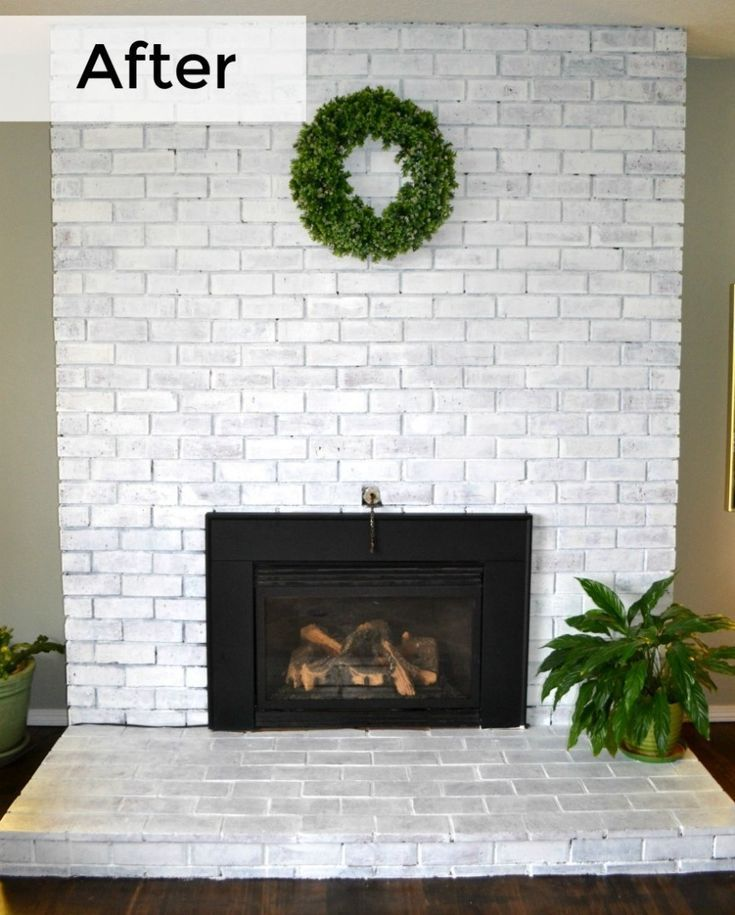 Most current Free whitewash Brick Fireplace Thoughts Sometimes it makes sense for you to bypass a transform! Instead of removing a good out of date brick fireplace , cut cos #Brick #current #Fireplace #Free #Thoughts #whitewash #whitebrickfireplace