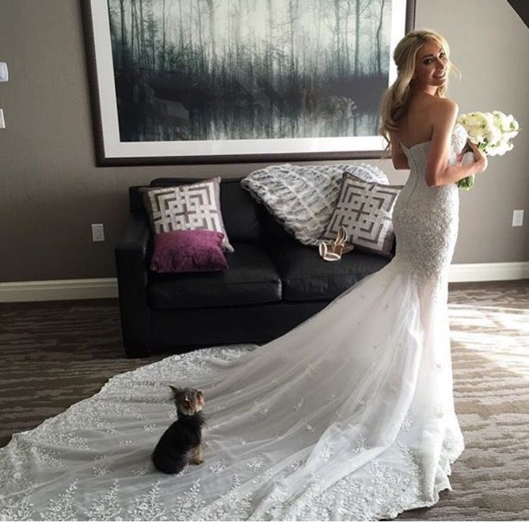 Fashion Rules For Wedding Dresses That Should Not Be Broken Dont Forget The Pup Bride Heather Bilyeu