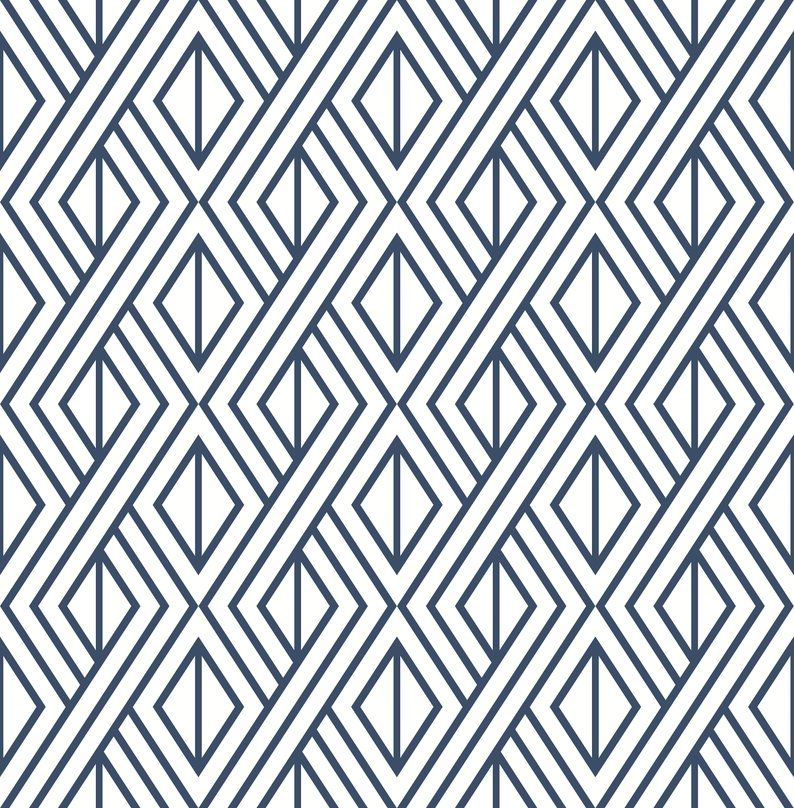 Wallpaper Peel And Stick Removable Wallpaper Self Adhesive Etsy Peel And Stick Wallpaper Peelable Wallpaper Geometric Wallpaper