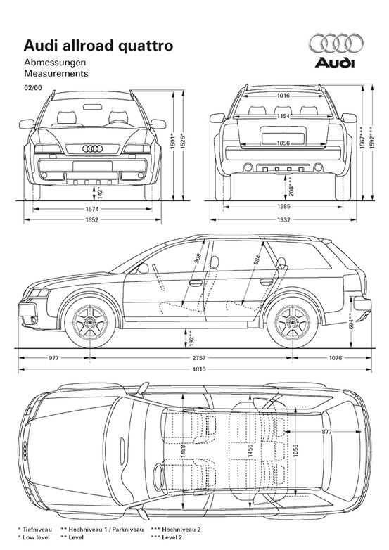 Car blueprint | Blueprints - Cars | Pinterest | Cars, Audi allroad ...