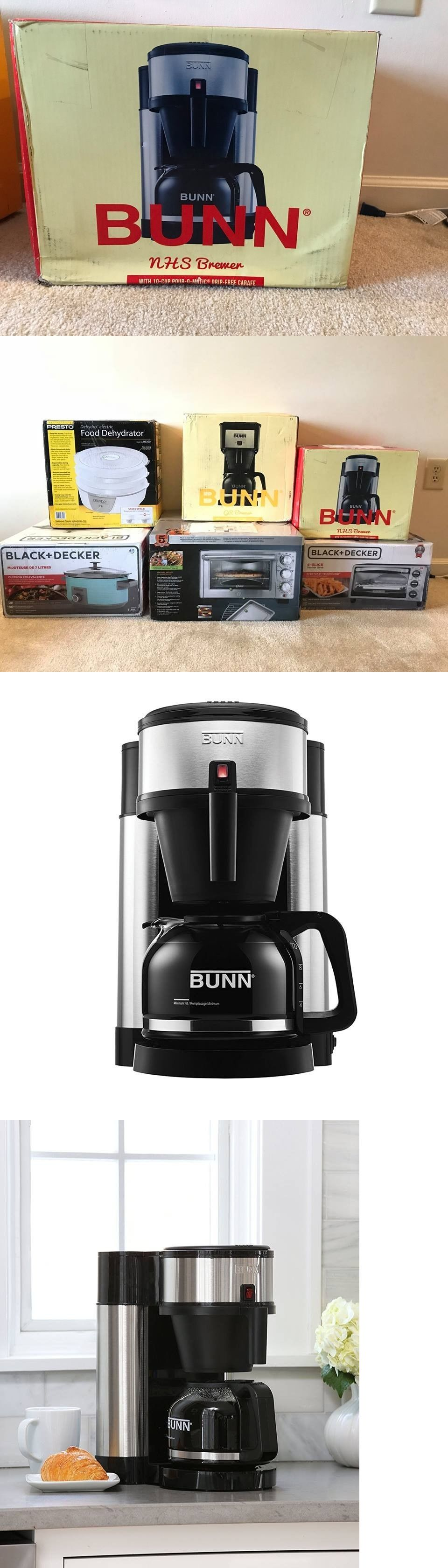Filter coffee machines bunn nhs velocity brew cup home
