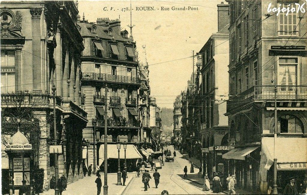 rue grand pont rouen - Google Search