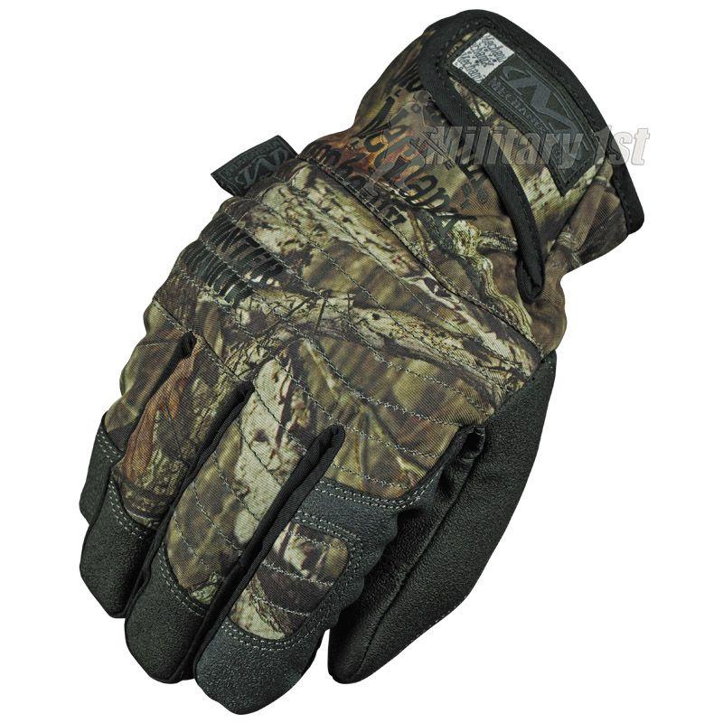 Mechanix Wear Winter Armor Gloves in Mossy Oak camo