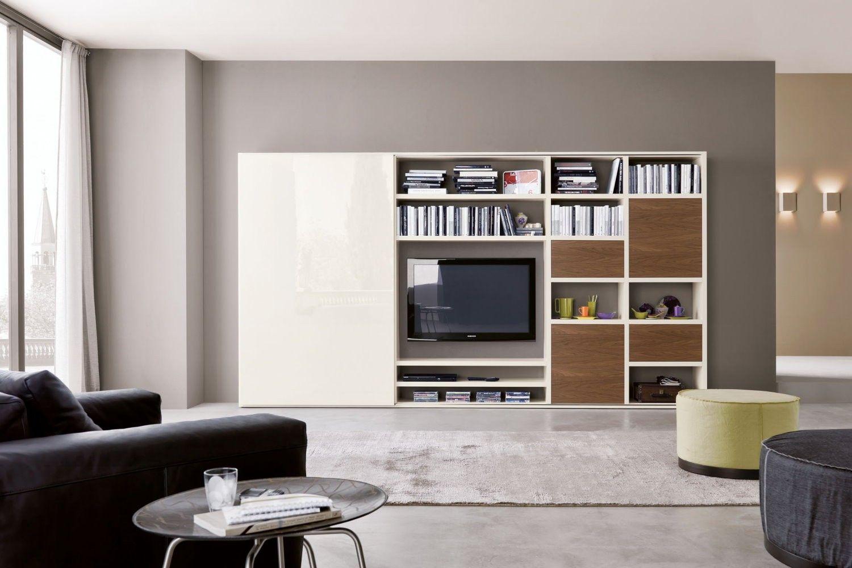 risultati immagini per parete attrezzata vetrina | mobili ... - Soggiorno Con Tv A Scomparsa