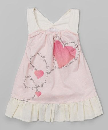 Look what I found on #zulily! Light Pink Dot Racerback Dress - Infant #zulilyfinds