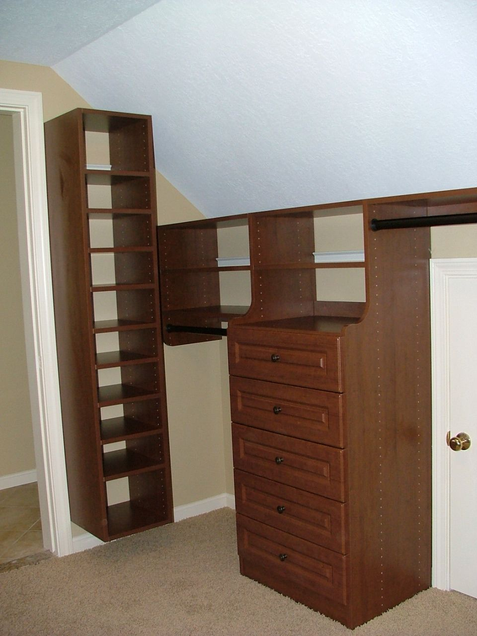 Pin On Closets With Angled Ceilings