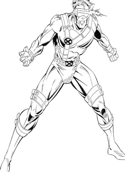 X Men Coloring Pages Beast Marvel Coloring Superhero Coloring