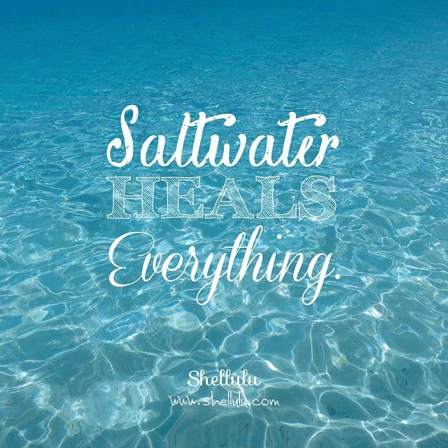 . Saltwater. Heals. Everything. . . #shellulu #saltwater #heal #aquaholic #oceanpeople #beachlover #beachlife #mermaid #swimlikeamermaid #underthesea #underwater #photograph #phototakenbyme #message #goodvibes