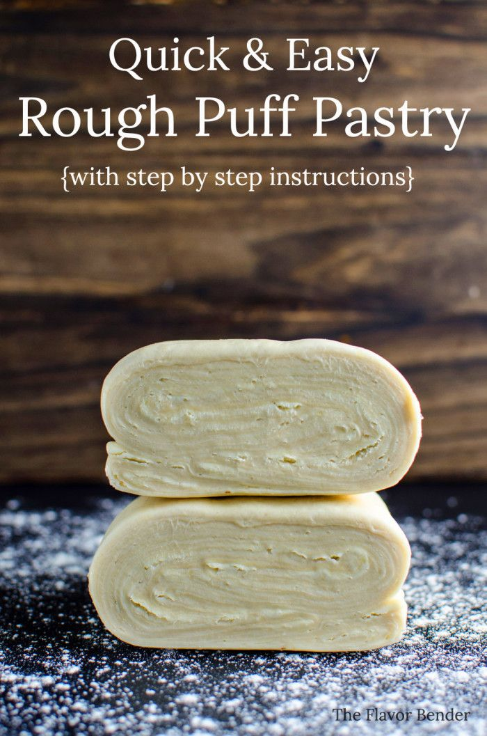 Unbelievably easy Rough Puff pastry is part of Rough puff pastry -