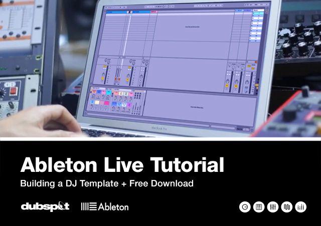 Ableton DJ Template | ableton live | Pinterest | Dj, Ableton live ...
